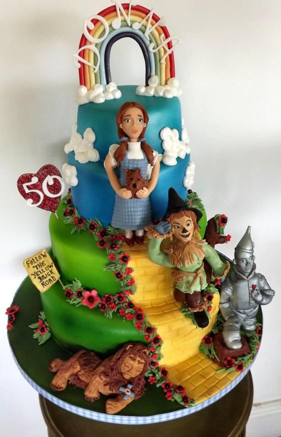 Incredible 11 Cool Wizard Of Oz Cakes Photo Wizard Of Oz Birthday Cake Funny Birthday Cards Online Bapapcheapnameinfo