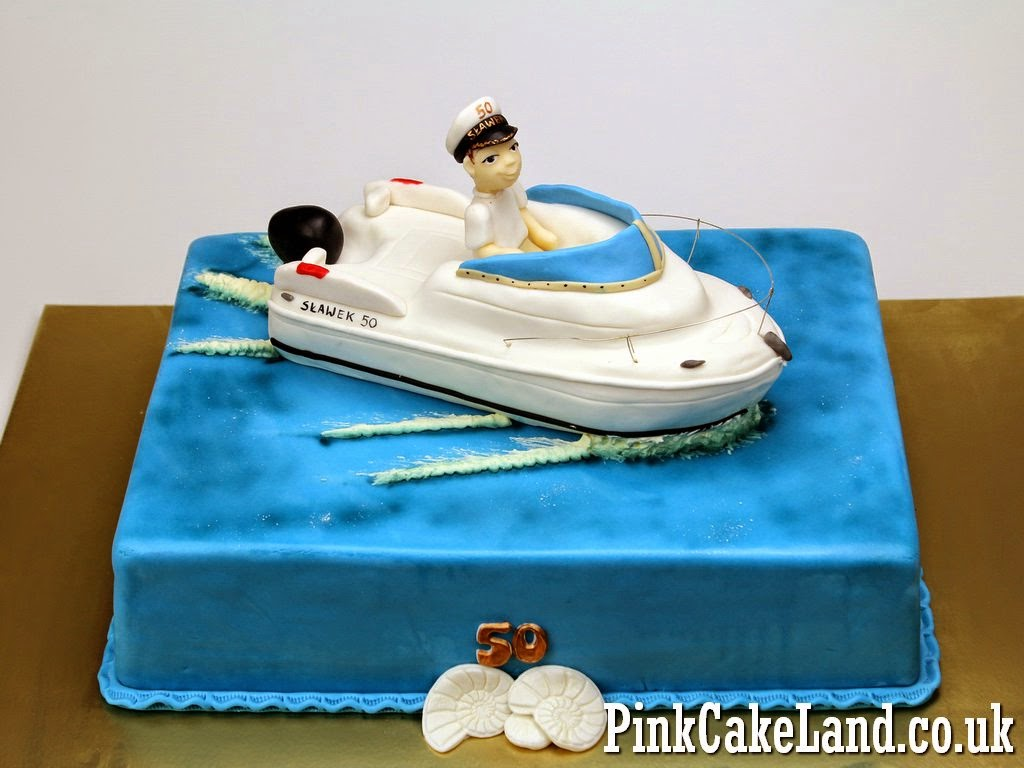 11 Boat Cakes For Men Photo Fishing Boat Cake Happy Birthday Cake
