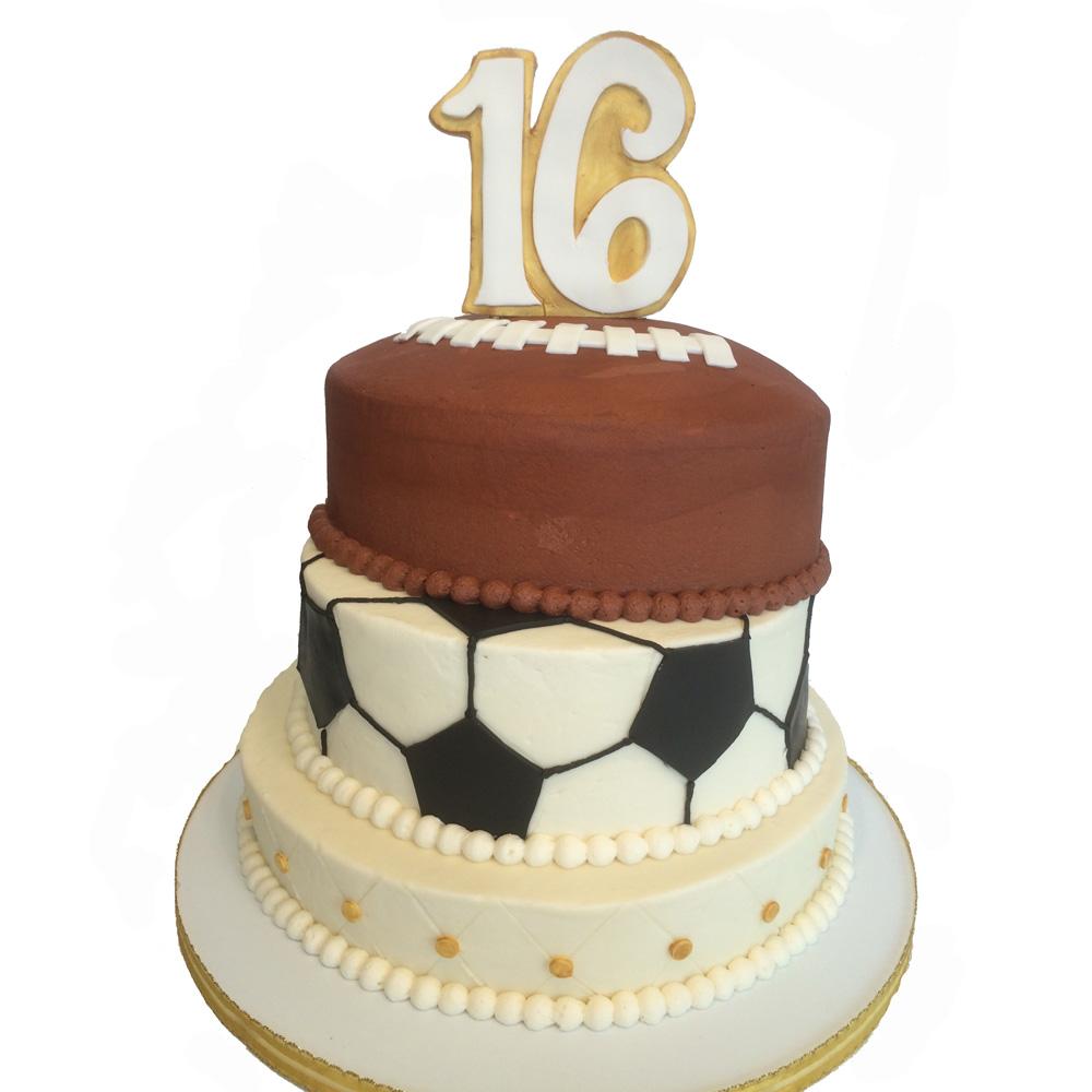 Awesome 12 Sweet 16 Birthday Cakes Brookshires Photo Teal Sweet 16 Birthday Cards Printable Giouspongecafe Filternl