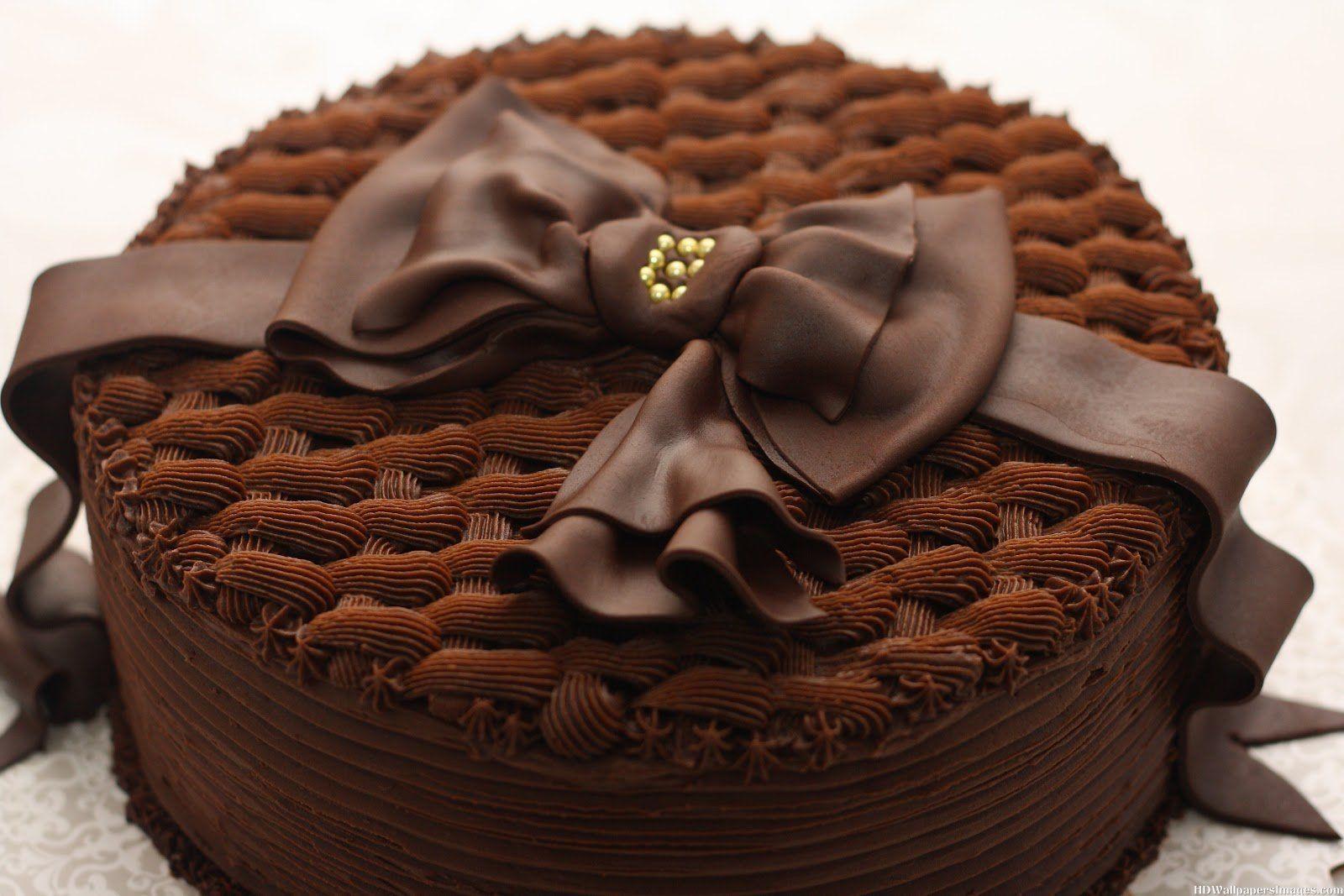 12 Chocolate Happy Birthday Beautiful Cakes Photo Chocolate