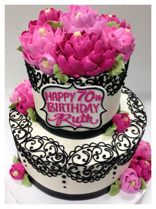 12 white flower cake shoppe buttercream cakes photo white flower birthday cake white flowers mightylinksfo
