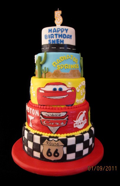 Tremendous 12 Disney Cars Birthday Party Cakes Photo Disney Cars Birthday Personalised Birthday Cards Veneteletsinfo