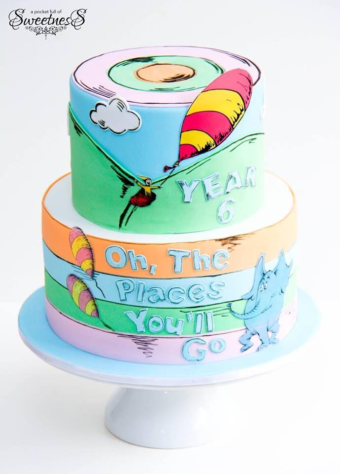 10 Costco Cakes Dr Seuss Photo Dr Seuss Baby Shower Cake Books
