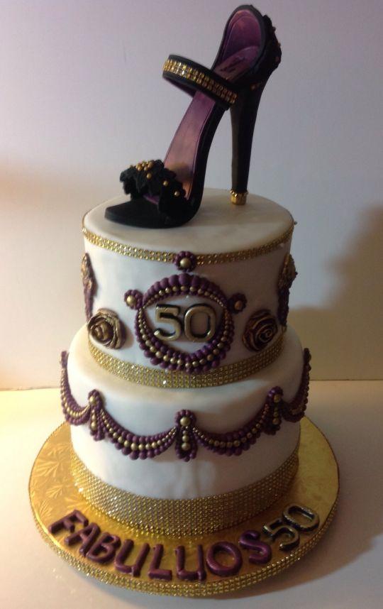 13 Classy 50th Birthday Cakes Photo Elegant 50th Birthday Cake