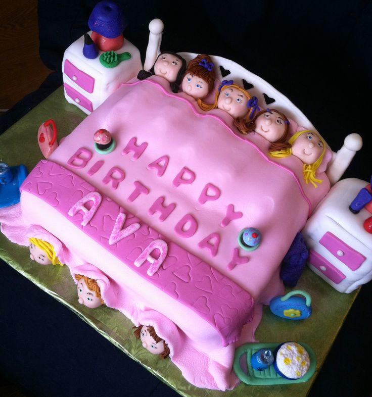Sensational 11 Spa Sleep Over Birthday Cakes Photo Spa Party Cake Girls Funny Birthday Cards Online Inifodamsfinfo