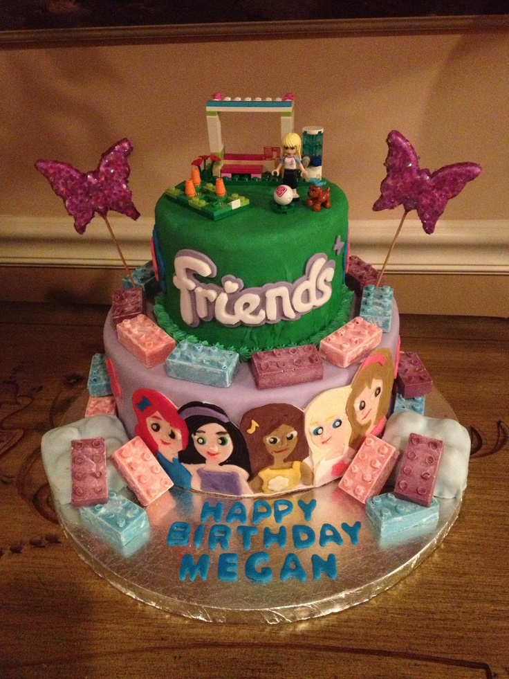 Pleasant 8 Good Friends For Birthday Cakes Photo Lego Friends Birthday Personalised Birthday Cards Paralily Jamesorg