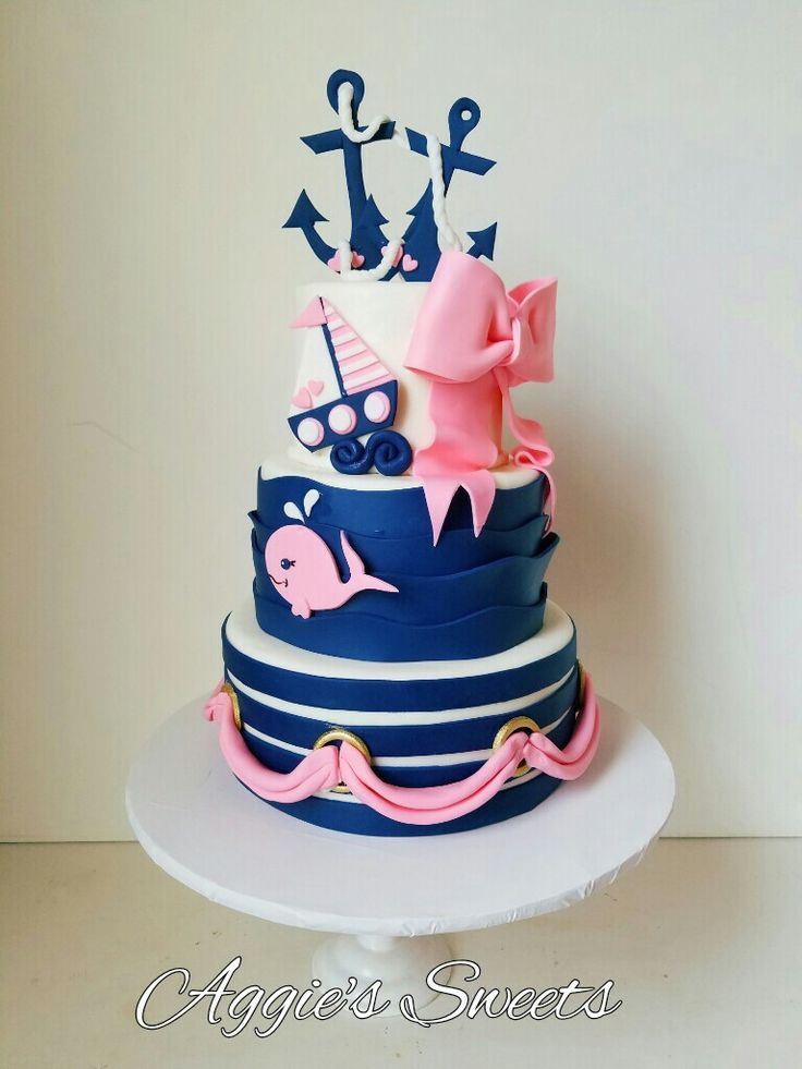 Super 6 Brown And Blue Nautical For Birthday Cakes Photo Nautical Personalised Birthday Cards Sponlily Jamesorg