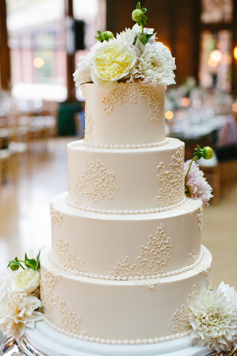 10 Simple White Round Wedding Cakes Photo Simple White Wedding