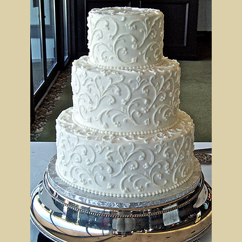 11 Elegant Wedding Cakes Traditional Buttercream Photo Elegant