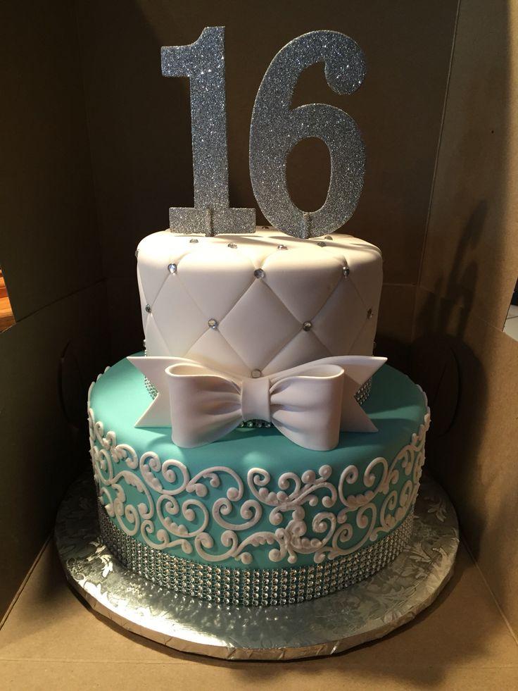 Sweet 16 Birthday Cake Designs