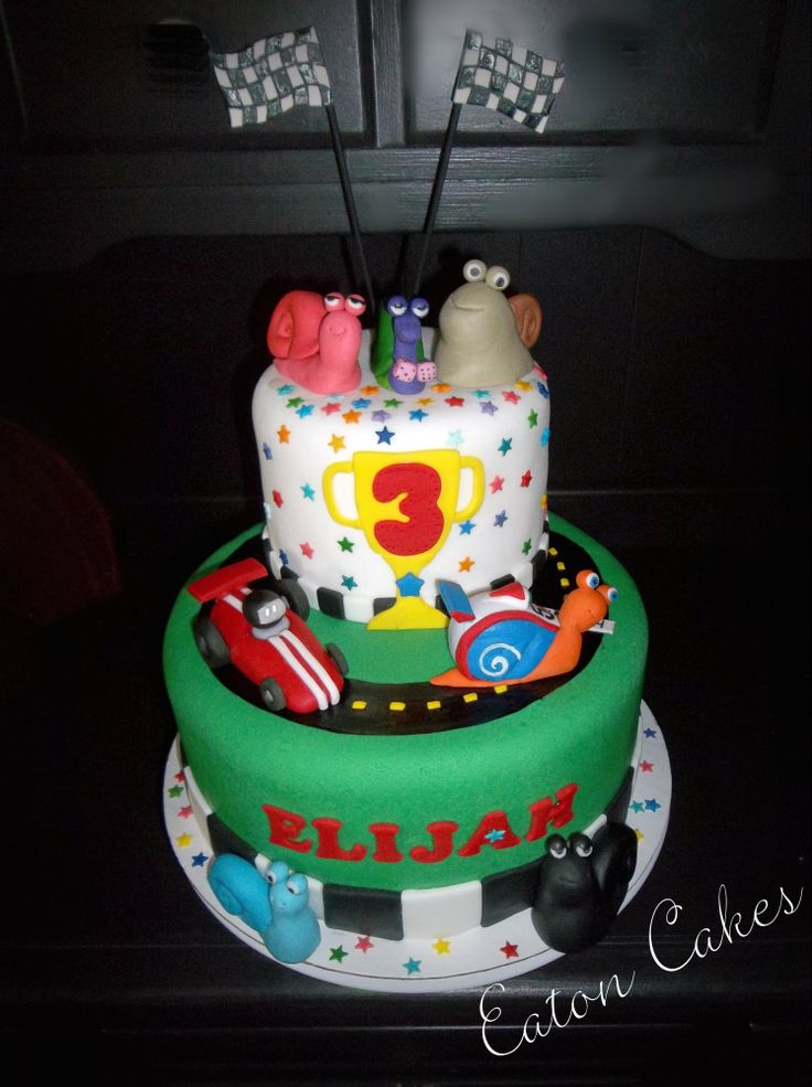 9 Turbo Shaped Cakes Photo Turbo Cake Turbo Snail Birthday Cake
