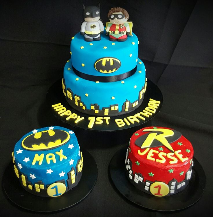 Twin 1st Birthday Cakes For Boys