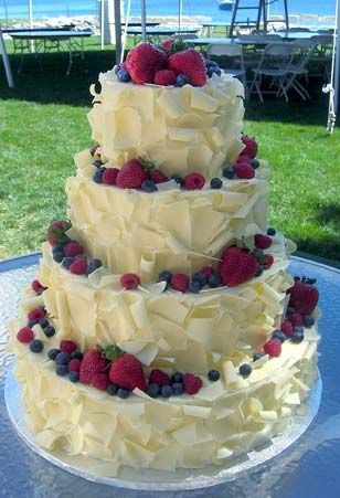 6 Designer Wedding Cakes Pictures Fruit Photo Wedding Cake With