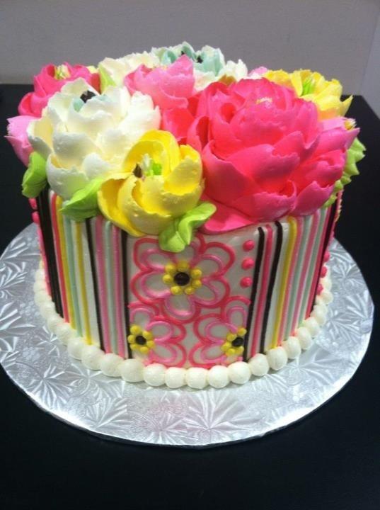 12 White Flower Cake Shoppe Buttercream Cakes Photo White Flower