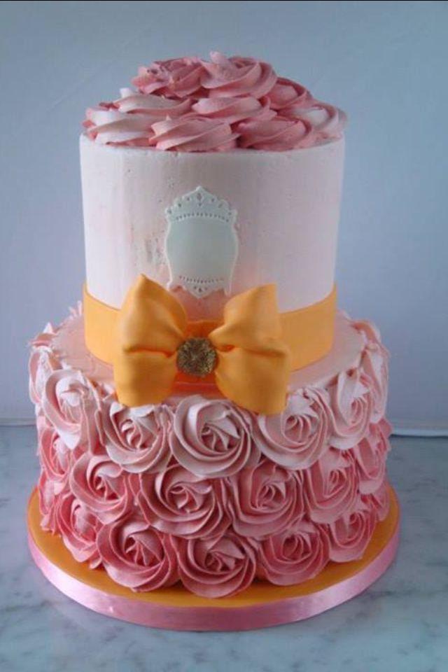 Baby Shower Cake Buttercream