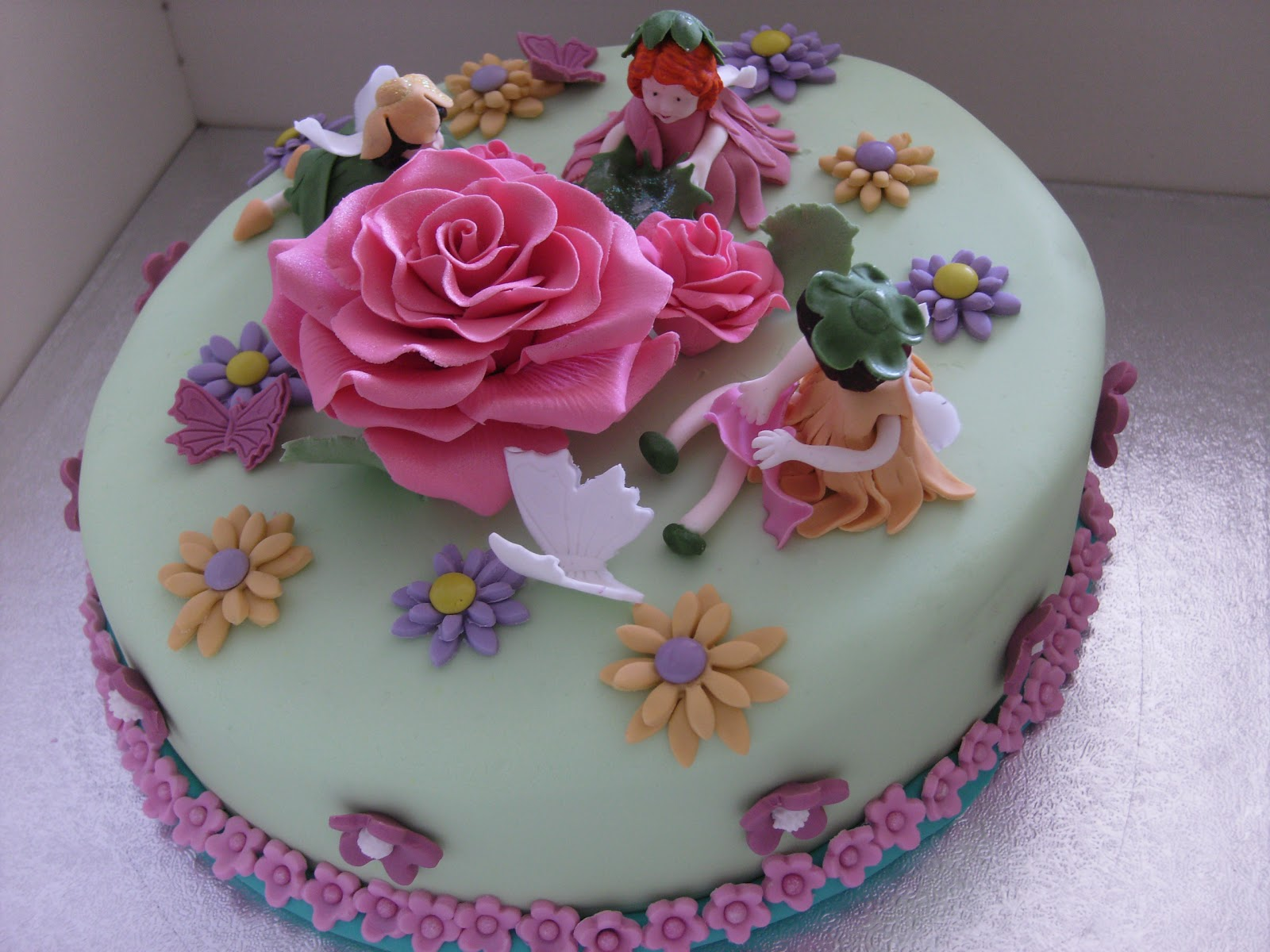 Cute Flower Birthday Cakes Flowers Healthy