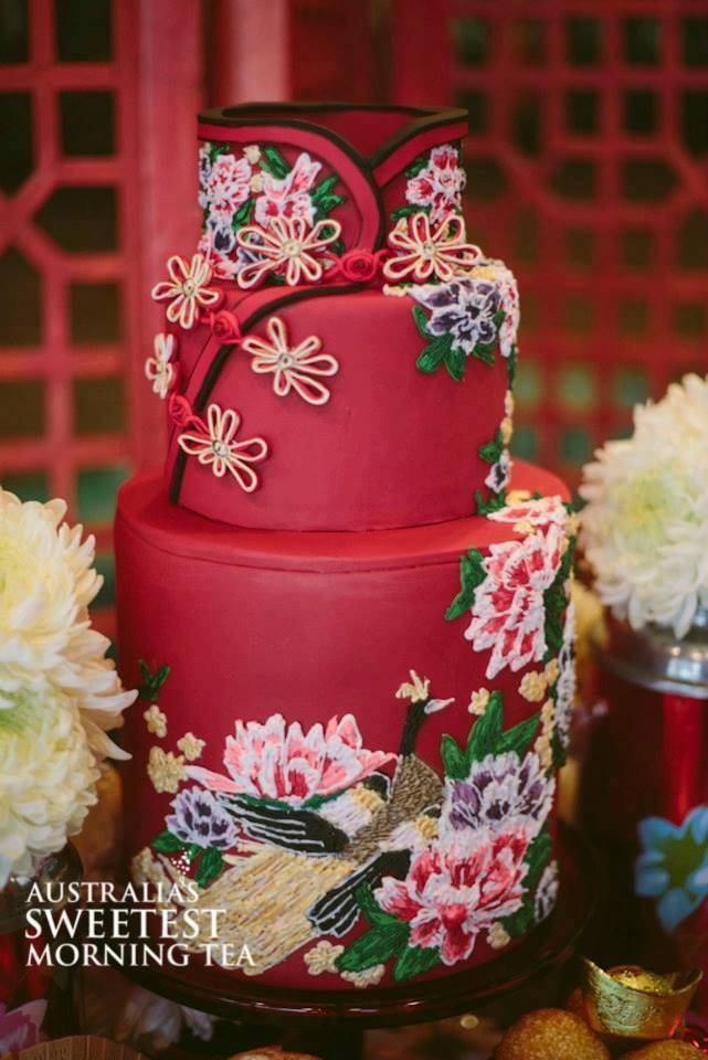 Asian cake style wedding pic 471