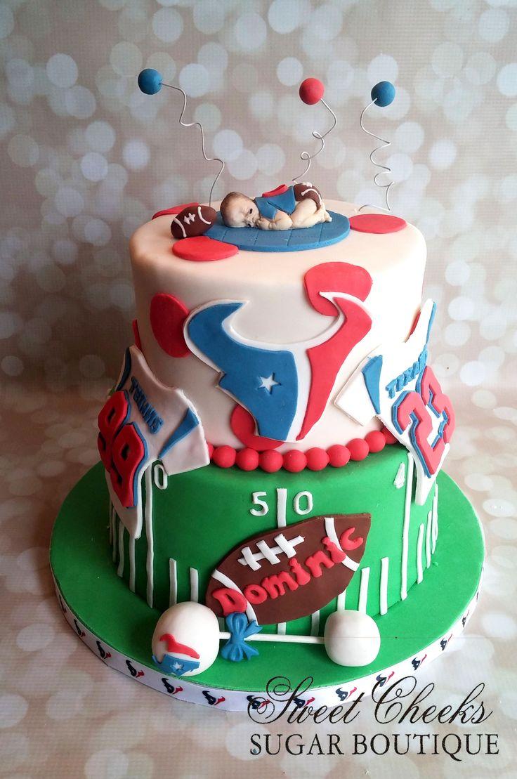 10 Boys Birthday Cakes Houston Photo Elmo Birthday Cake Sports