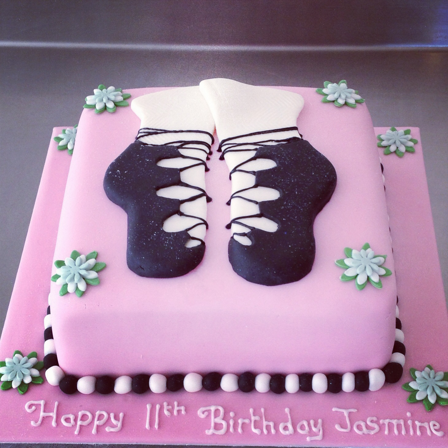 Fine 12 Dancing Birthday Cakes For Women Photo Irish Dancing Birthday Personalised Birthday Cards Cominlily Jamesorg