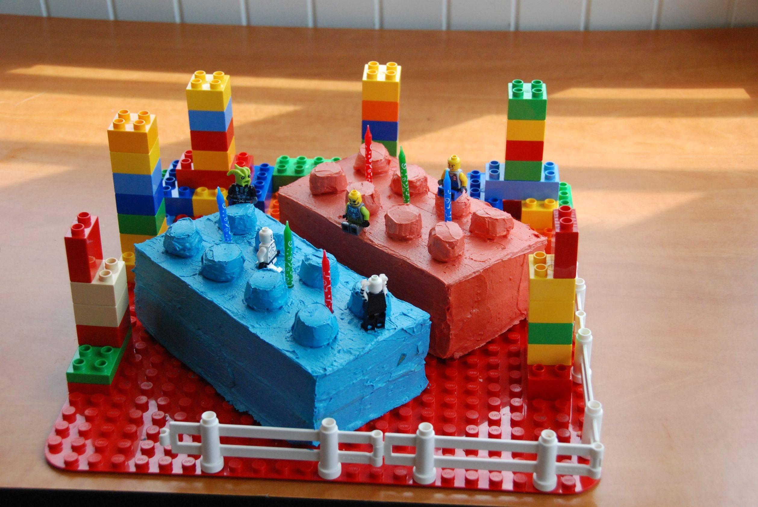 LEGO Birthday Cake 6 Year Old Boy