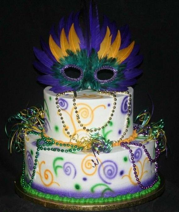 Pleasant 12 Madri Gras Cakes Photo Mardi Gras Cake Ideas Mardi Gras Funny Birthday Cards Online Alyptdamsfinfo