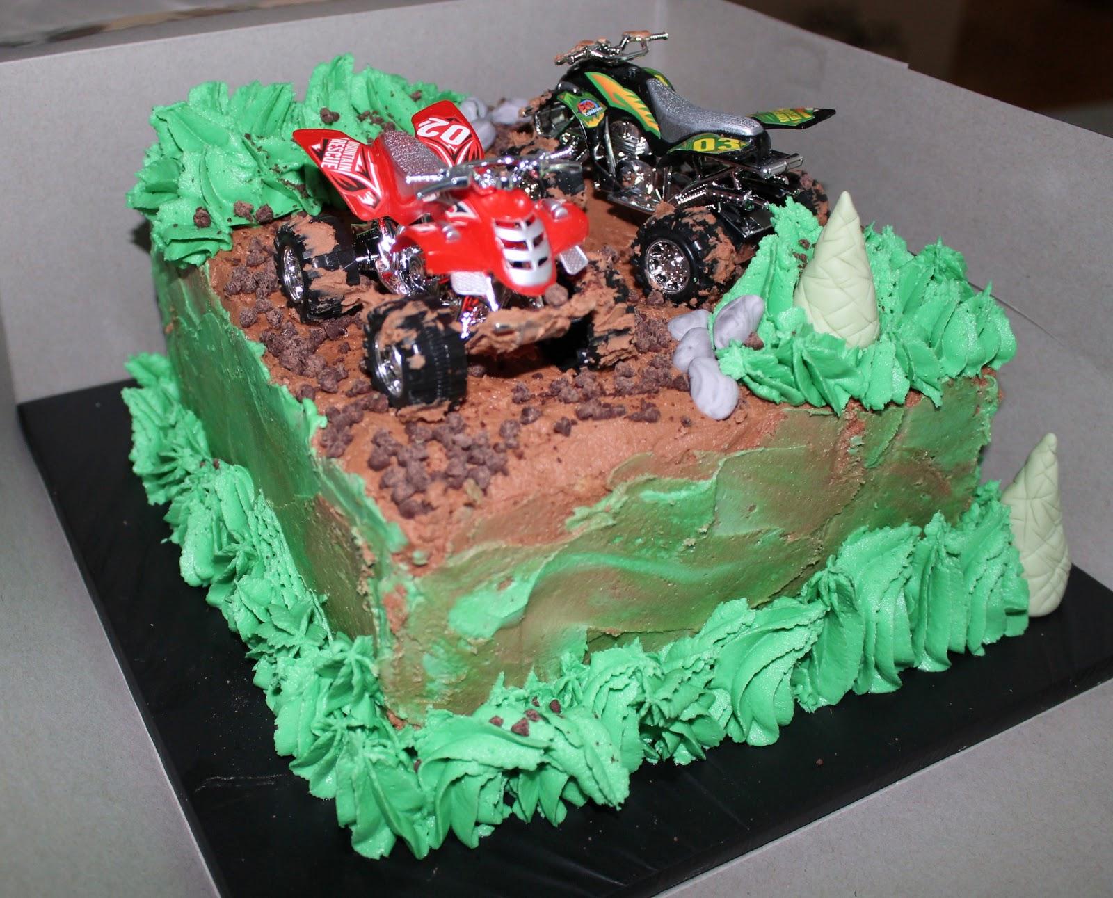 Astonishing 12 Atv Birthday Cakes For Boys Photo Atv Birthday Cakes Atv Funny Birthday Cards Online Aboleapandamsfinfo