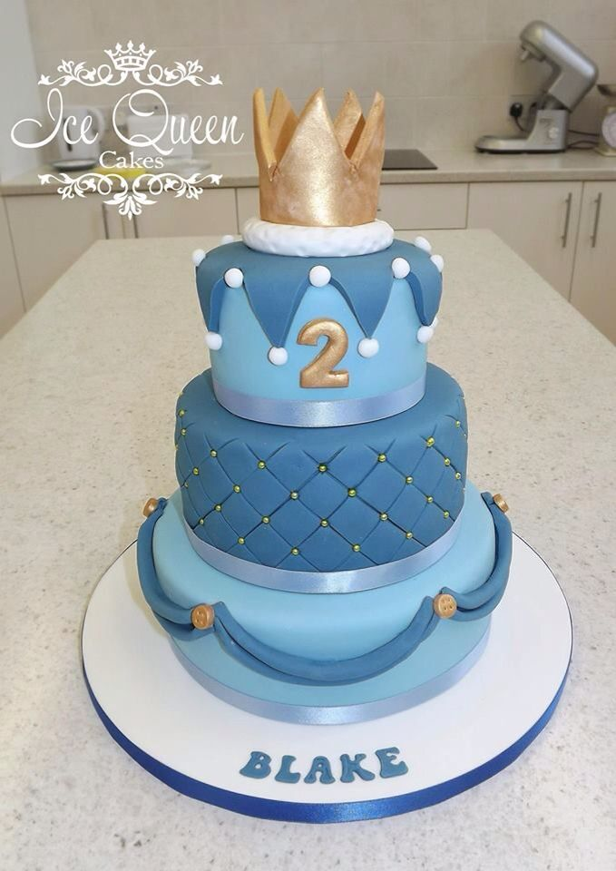 11 Crown Cakes For Boy Toddlers Photo