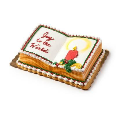 Publix Bakery Christmas Cakes