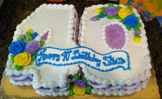 Birthdays Sheets Cakes Photo Publix Sweet 16 Decorated