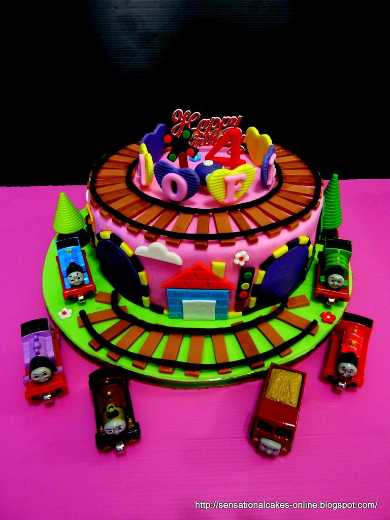 Magnificent 9 Thomas Train Birthday Cakes For Girls Photo Thomas Train Theme Funny Birthday Cards Online Sheoxdamsfinfo