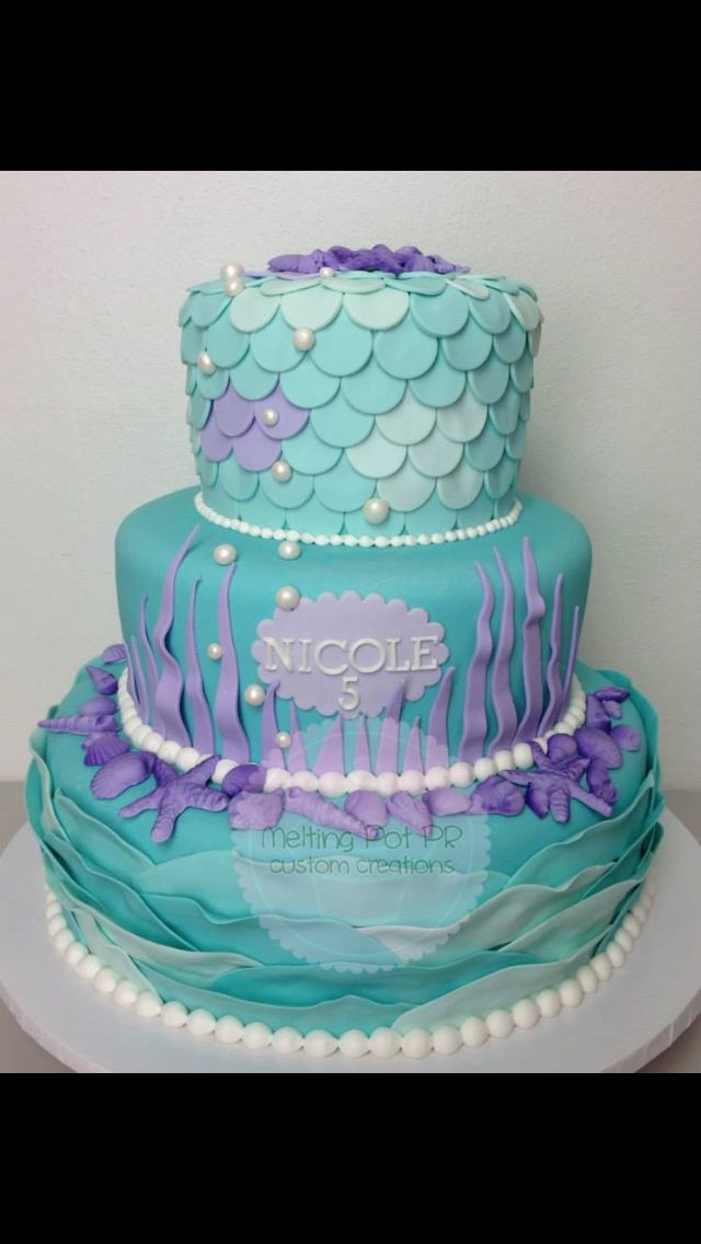 Peachy 7 Iballisticsquid Under The Sea Cakes Photo Under Sea Birthday Funny Birthday Cards Online Eattedamsfinfo