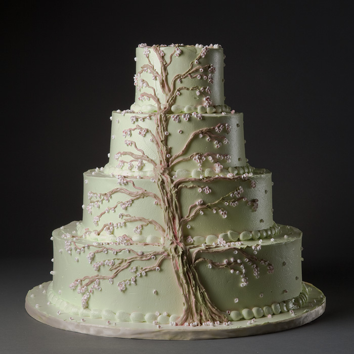 12 Wedding Cakes Designs On Tree Photo Tree Wedding Cake Tree