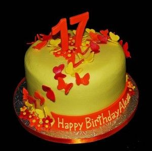 17 Year Old Boy Birthday Cake Via 17th Ideas For Girls