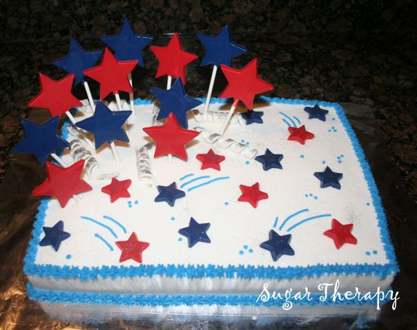Fabulous 9 July 4Th Sheet Cakes Photo Happy July 4Th Birthday Cake Funny Birthday Cards Online Inifofree Goldxyz