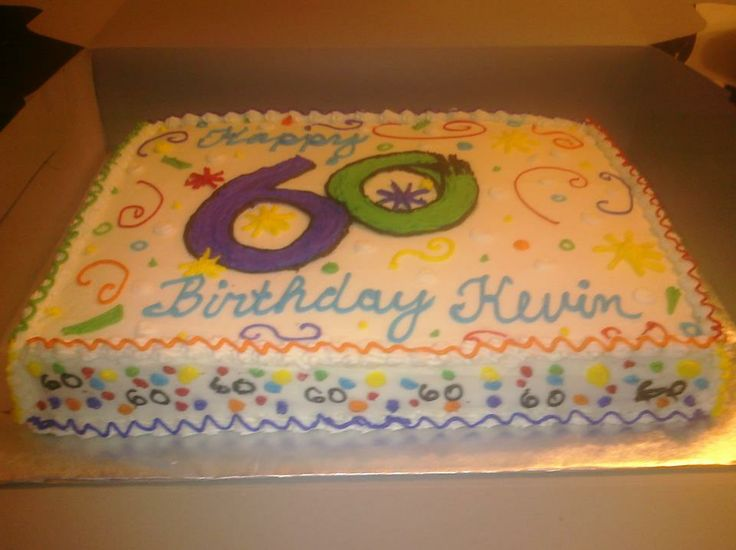 9 60th Birthday Sheet Cakes Fall Photo Fall Themed Sheet Birthday