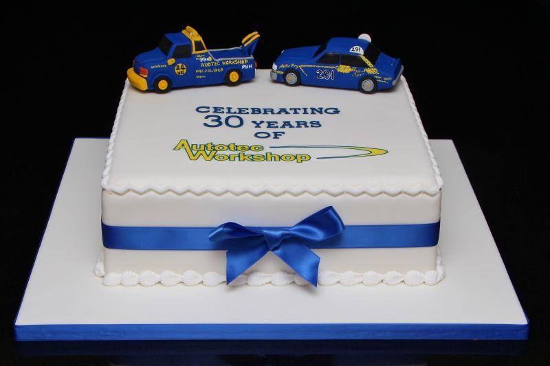 Th Anniversary Birthday Business Cake Ideas