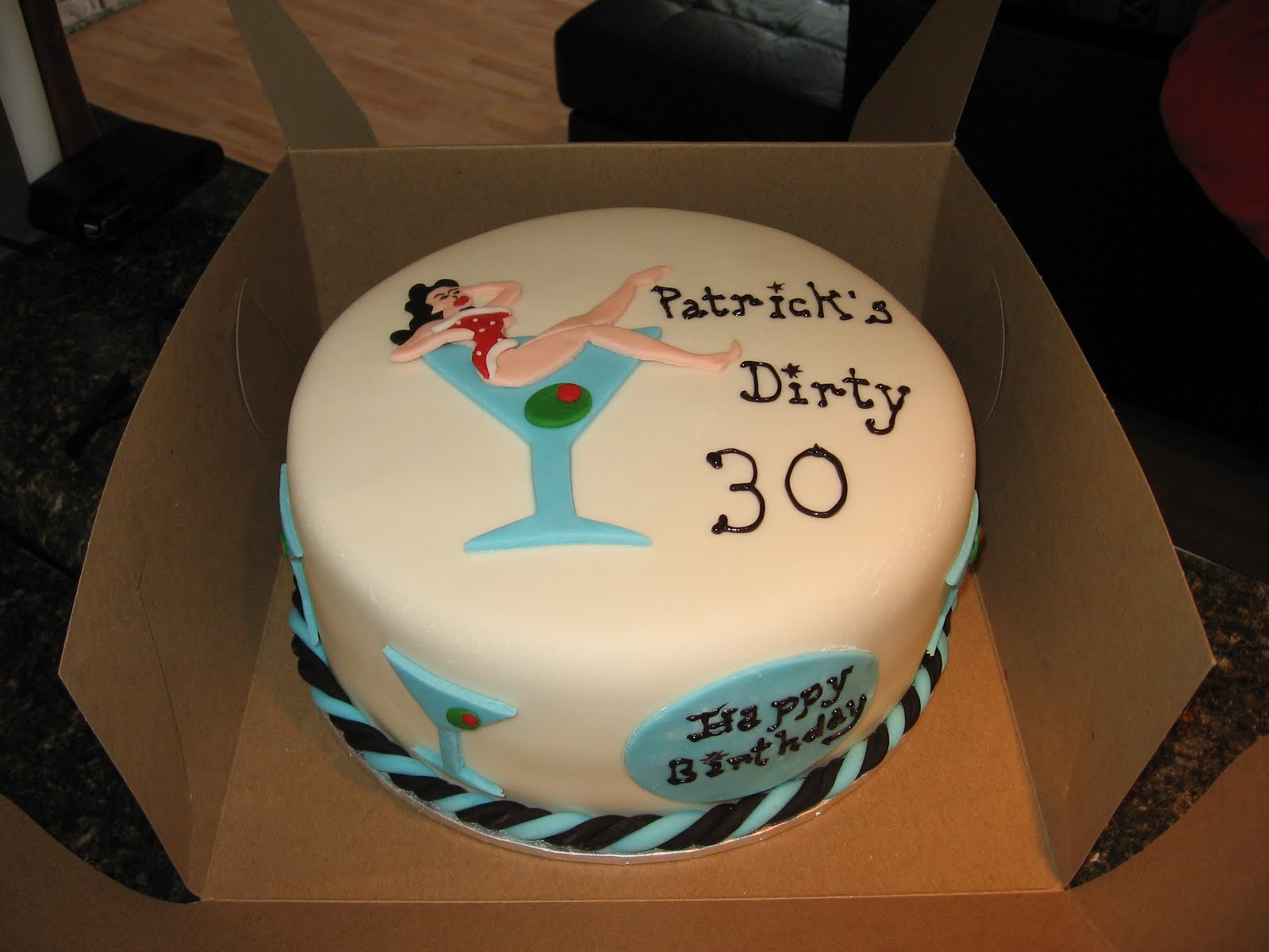 Terrific 12 Dirty 30 Cakes Photo Dirty 30 Birthday Cake Ideas Dirty Funny Birthday Cards Online Hetedamsfinfo