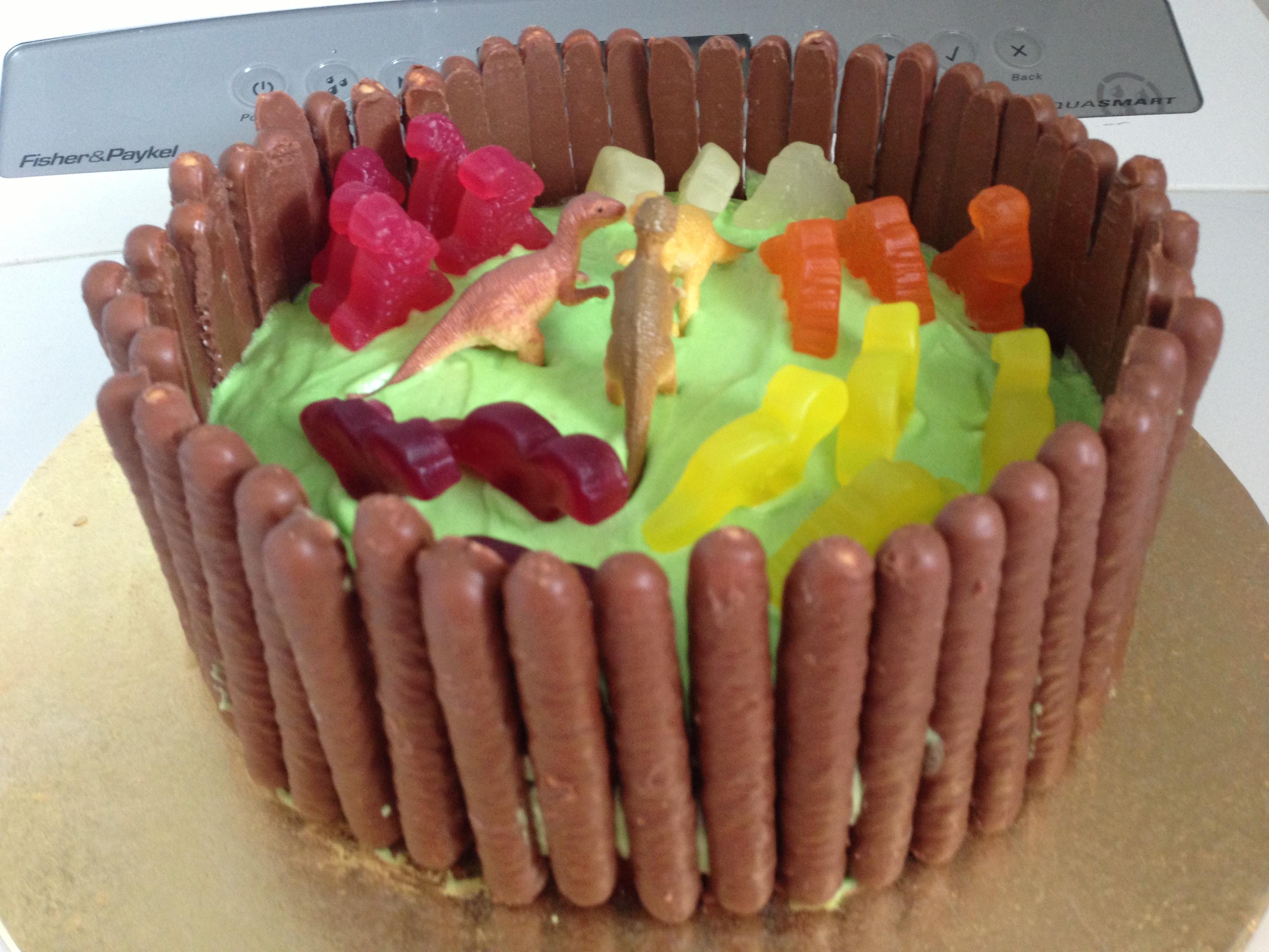 Easy Boys Birthday Cake