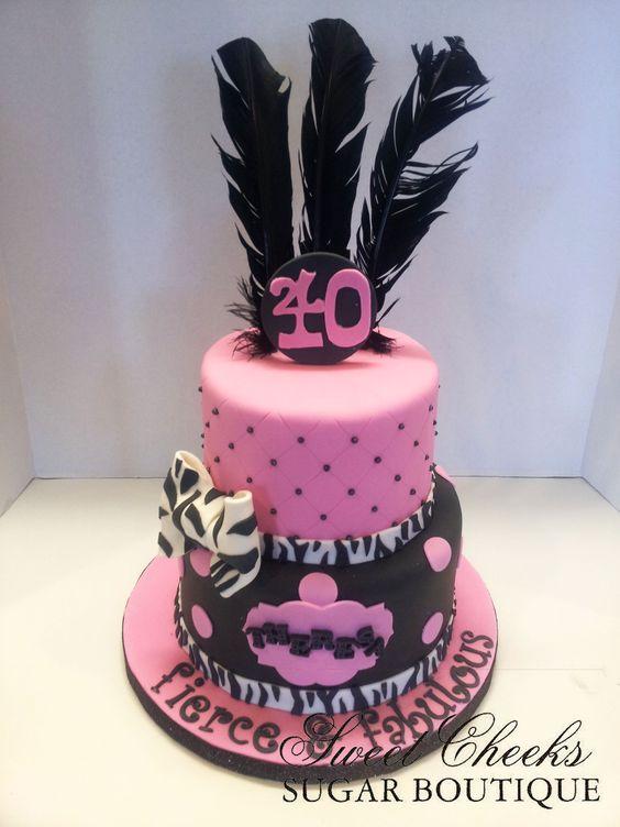 12 40 And Fabulous Birthday Cakes Photo Fabulous 40 Birthday Cake