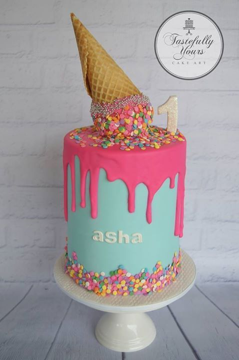 Ice Cream Cone Birthday Cake Ideas