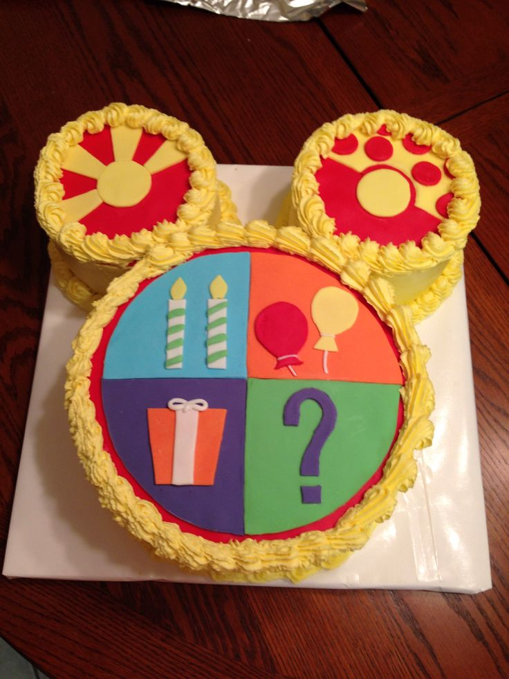 Amazing 9 Muffins Made With Mickey Mouse Birthday Cakes For Boys Photo Funny Birthday Cards Online Alyptdamsfinfo