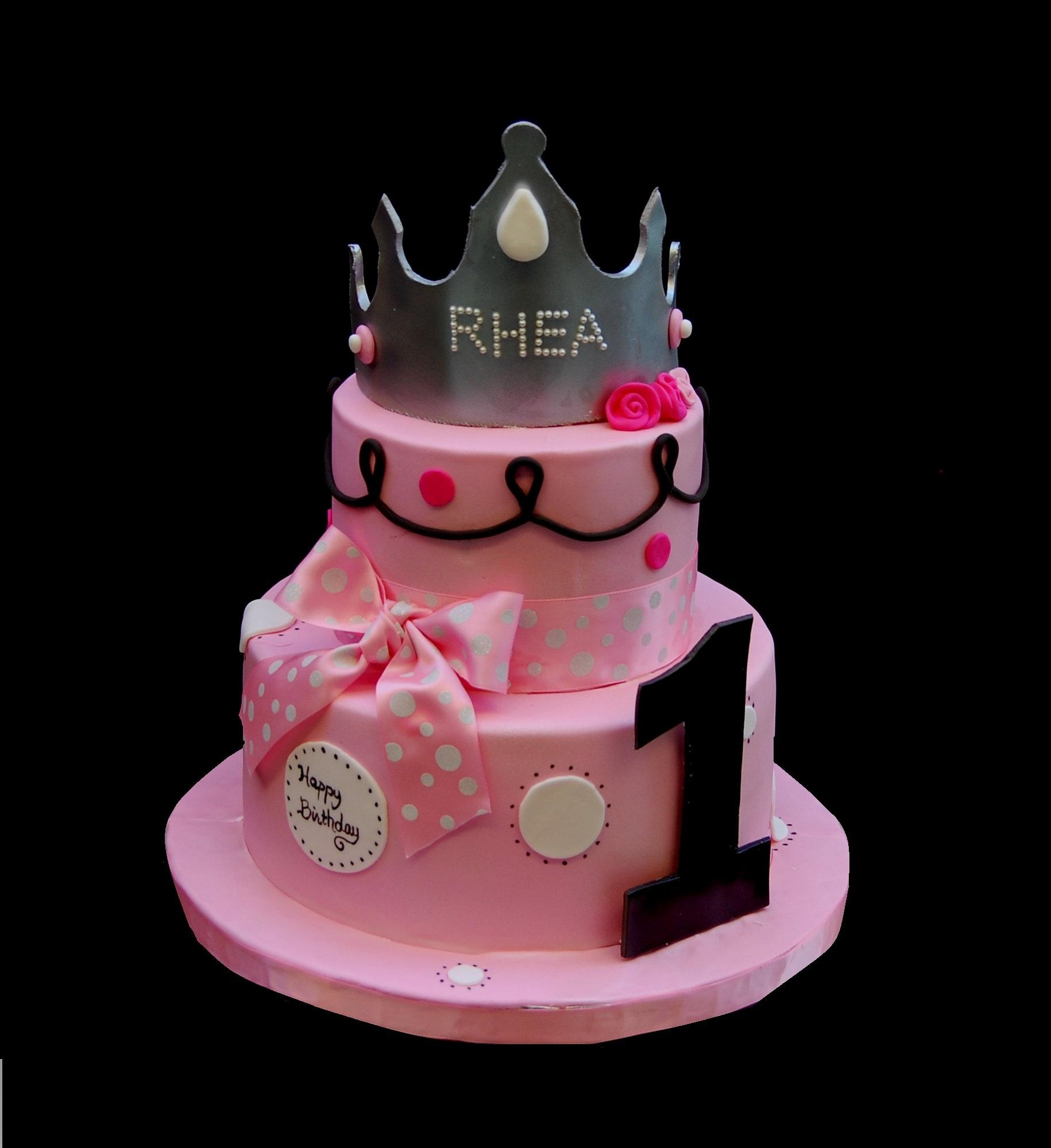 8 Princess Birthday Cakes 1 Year Old Girl Photo
