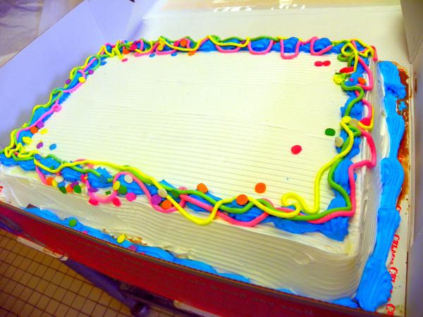 Publix Carvel Ice Cream Cake