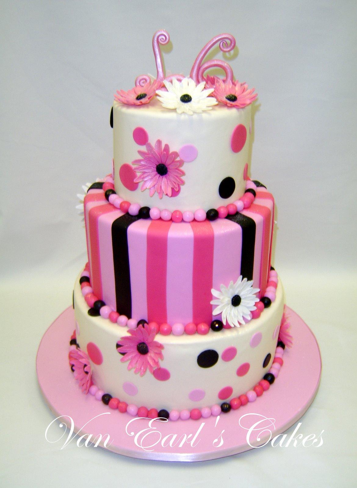 11 5 Layers Of Sweet Sixteen Birthday Cakes Photo Sweet 16