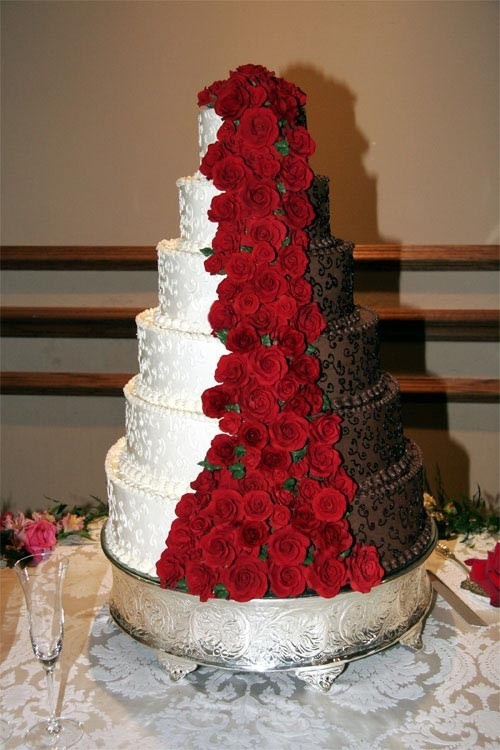 12 Red And Brown Cake Boss Wedding Cakes Gallery Photo - Cake Boss ...
