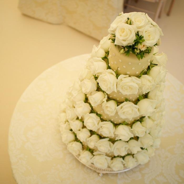 6 5 Tier Wedding Cakes With Roses Photo - White 5 Tier Wedding Cakes ...