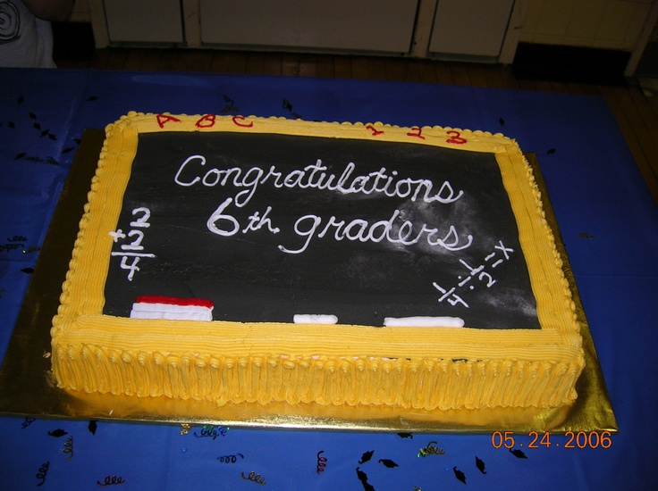 10 Homeschool Graduation Cakes Photo Chocolate Graduation Caps