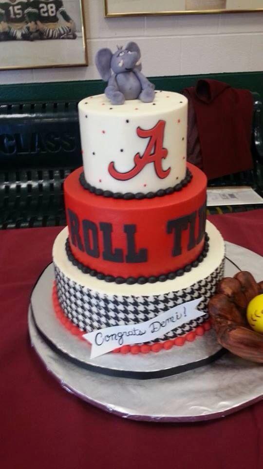 12 University Of Alabama Football Cakes Photo Alabama Crimson Tide