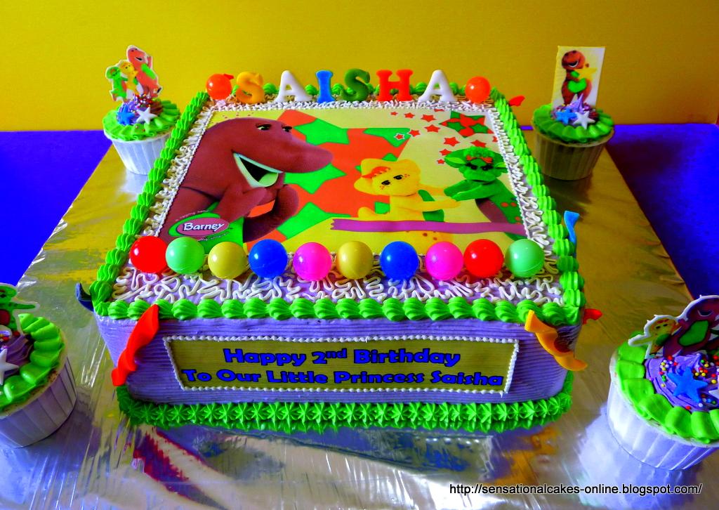 Excellent 11 Barney Happy Birthday Cakes Photo Barney Birthday Cake Funny Birthday Cards Online Necthendildamsfinfo