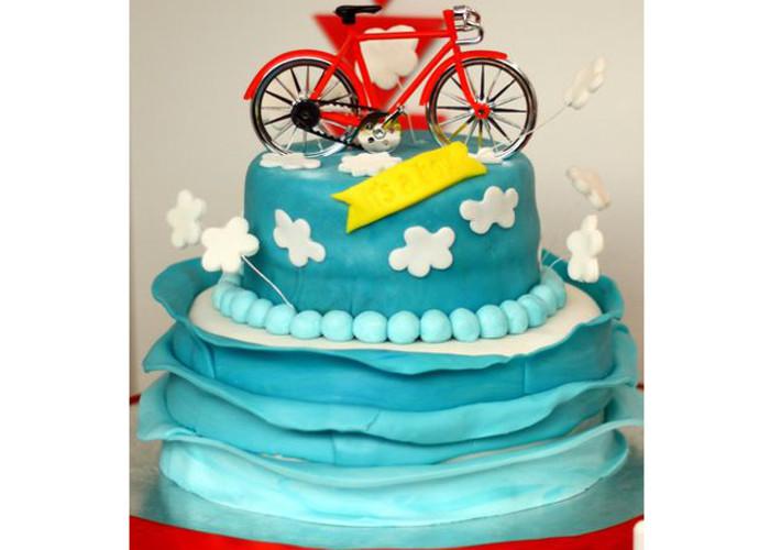 8 Bikes Themed Cakes Photo Bicycle Themed Birthday Cake Mountain
